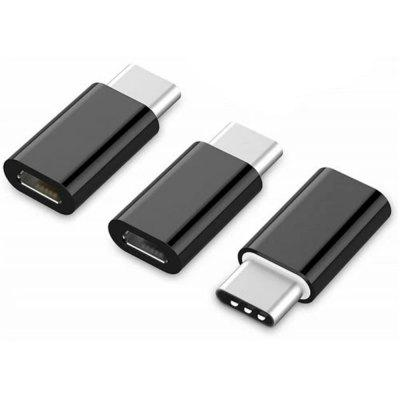 3PCS  Micro USB to USB C Adapters Type-C