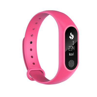 Smart Bluetooth Bracelet Heart Rate Monitoring Pedometer for Android IOS