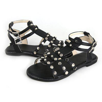 Flatsoled Lowheeled Casual Comfortable Sandals