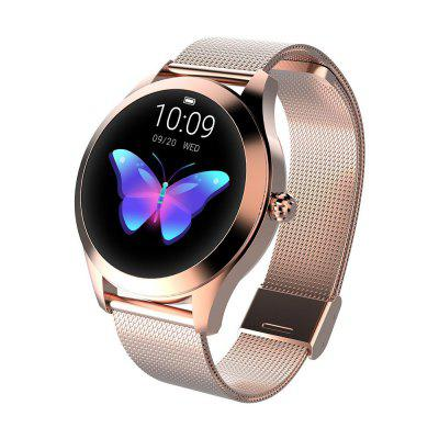 Women's Smart Watch Fitness Sleep Monitor Waterproof Call Reminder Watch Image