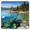 Fashionable  Rubber   Beautiful   Multicolor   Gaming    Square  Mouse Pad - MULTI
