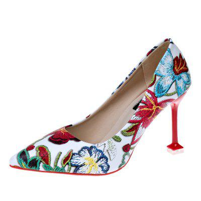 Fashion Womens Shoes With Pointed Thin Heels
