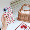 JUST IDEA Cute Strawberry Pattern Blue Light Phone Case for iPhoneX/XS/XSMAX - MULTI-A