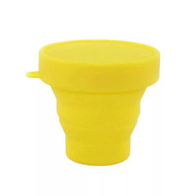 Silicone Collapsible Travel Cup for Outdoor Camping and Hiking