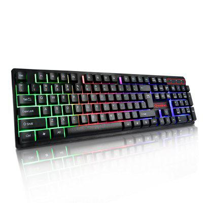 YWYT Y604 Colorful backlight game keyboard suspension key cap 19 keys no conflic