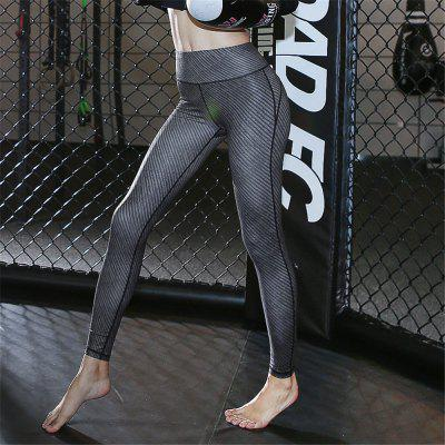 Hot High Waist Spliced Skinny Elastic Women Yoga Pants