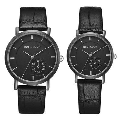 Xr3232 Couple Hand Form Eye Four-Needle Business Men And Women Watch