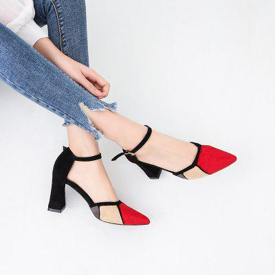A New Type Of Highheeled Women With OneWord Button