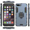 For Iphone 8 Plus Vehicle Magnetism Refers To Environmental Protection Shell - GRAY