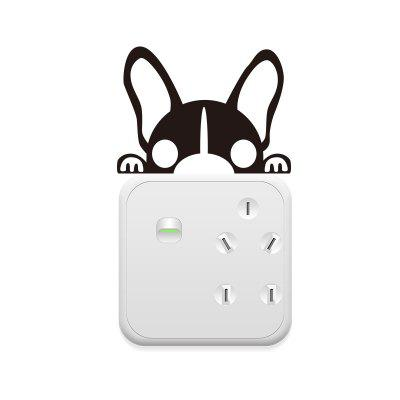 Cute Funny Light Switch Sticker Removable PVC Wall Sticker