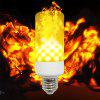 E27 LED Flame Light Bulb Simulation Flame Decorative Light Warm White 3 Pcs - WARM WHITE