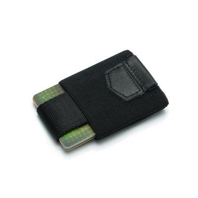 Elastic Leather Wallet Card Package