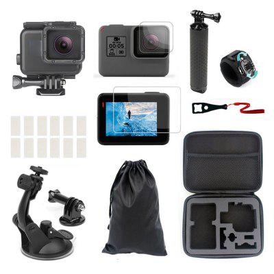 Accessories Kit for Gopro Hero 7 6 5 Water-resistant Housing Case Diving Box