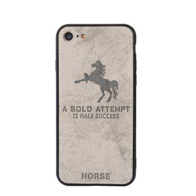 Cell Phone Accessories Cloth Horse Pattern For IPhone 8 Case Cover