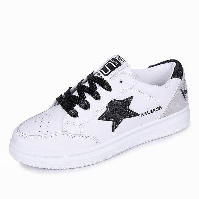 Comfortable Board Shoes with Five Pointed Star