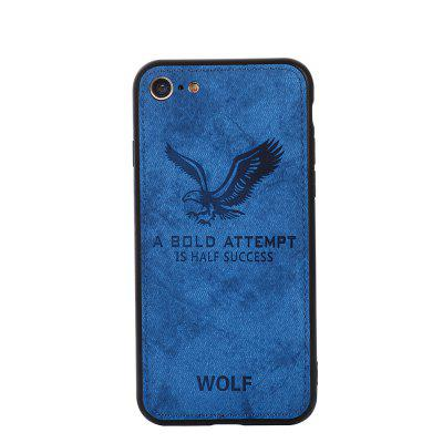 Cell Phone Accessories Cloth Eagle Pattern For IPhone 8 Case Cover