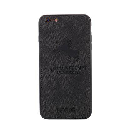 Cell Phone Accessories Cloth Horse Pattern For IPhone 6S Case Cover