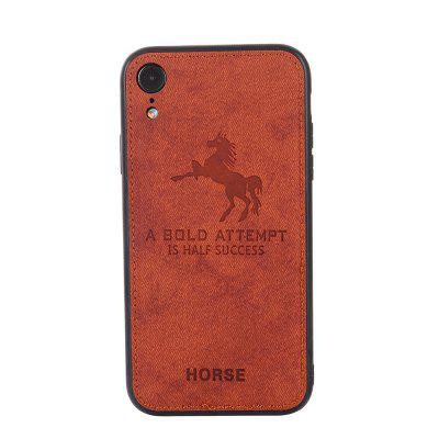 Cell Phone Accessories Cloth Horse Pattern For IPhone XR Case Cover