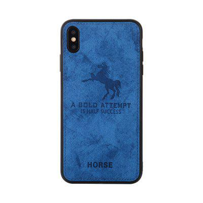Cell Phone Accessories Cloth Horse Pattern For IPhone X Cover