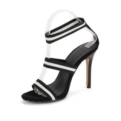 Summer Stiletto Heel Set with One-Toe Open-Toe Female Sandals (Gearbest) Stamford Prices for the announcement