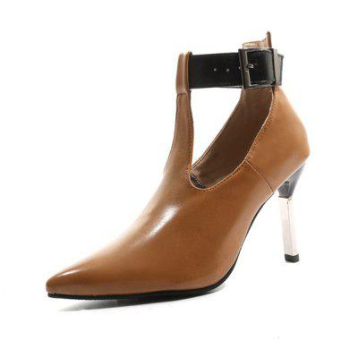 Spring and Summer Pointed Belt Buckle High Heel Hollow Stiletto Fashion Shoes (Gearbest) Huntington Beach Classifieds new