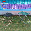 Outdoor Ultralight Portable Folding Stool Camping Fishing Chair - BLACK