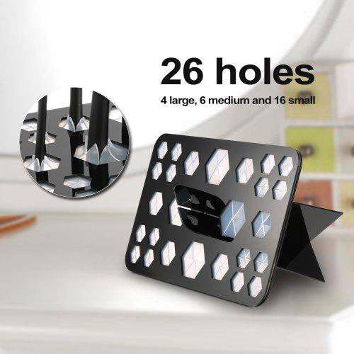 26 Holes Makeup Brush Holder profesional Stand make up brush Cosmetic Drying