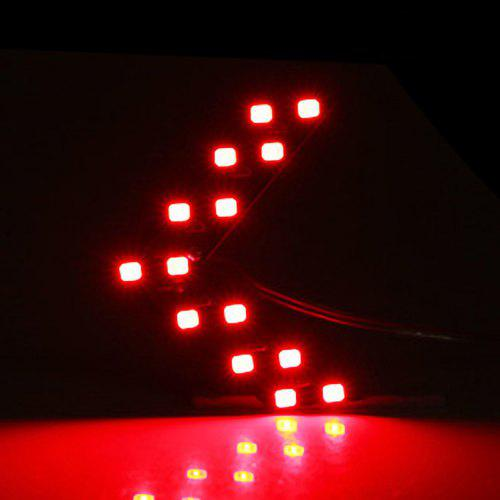 10 pcs RED LED ARROW Triangle Turn Signal Direction Shaped Bright Display 9-12V