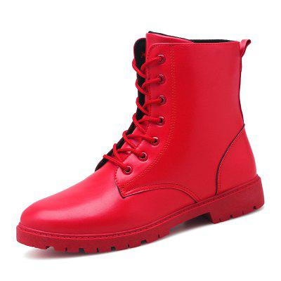 Men Fashion Casual Shoes Man Ankle Boots British Boot