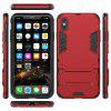 For Iphone XS MAX Cool Two-In-One Shelf Protection Case - RED
