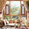 Lotus PVC Window Film Wall Sticker Matte - MULTI