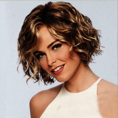 Wig Female Face Fluffy Hairstyle