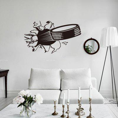 Creative Art Decal Tire Car Garage Removable Mural Home Decoration Wall Sticker