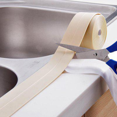 38MM Bath Wall Sealing Strip Self-Adhesive Kitchen Caulk Tape Bathroom 3.2m