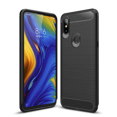 Cover Case for Xiaomi Mix 3 Shockproof Back Solid Color Soft TPU