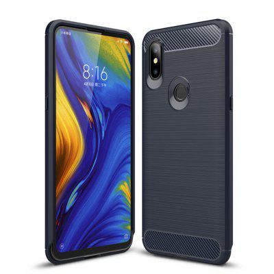 Cover Case per TPU Xiaomi Mix 3 Shockproof Back Solid Color