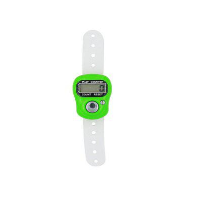 LCD Electronic Digit Finger Ring Digital Tally Counter Clicker Timer
