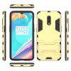 For One Plus 6T Cool Two-In-One Shelf Protection Case - GOLD