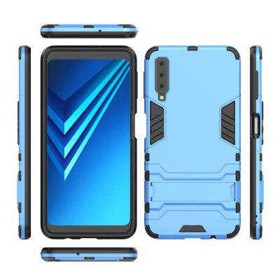 For SAMSUNG A7 2018 Cool Two-In-One Shelf Protection Case