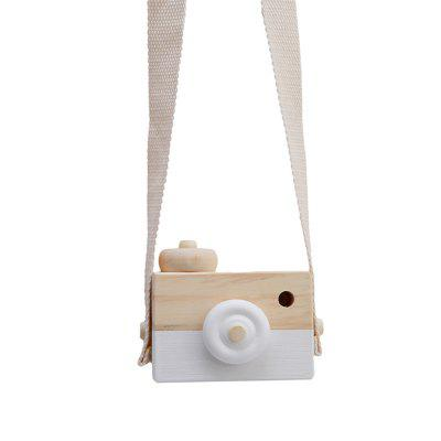 Cute Nordic Hanging Wooden Camera Toys Kids Toys Gift
