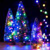 5M 50leds USB Copper Wire lights Fairy String with Automatic change of 7 color - MULTI