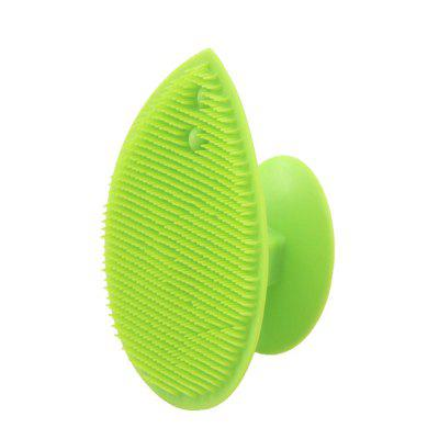 Hand Held Solid Color Silicone Wash Brush