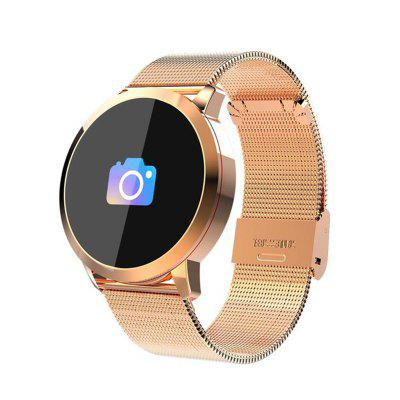 Q8 Smart Watch OLED Color Screen Smartwatch women Fashion Fitness Tracker Heart Image