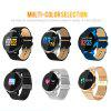 Q8 Smart Watch OLED színes képernyő Smartwatch nők Fashion Fitness Tracker Heart - FEKETE