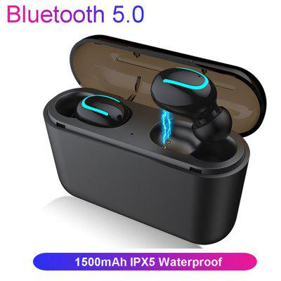 Q32 Bluetooth 5.0 Ecouteurs TWS Wireless Headphone Ecouteurs Bluetooth