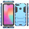 For HUAWEI Honor 9i Cool Two-In-One Shelf Protection Case - BLUE