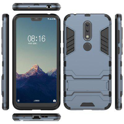 For NOKIA X6 Cool Two-In-One Shelf Protection Case