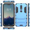 For NOKIA X6 Cool Two-In-One Shelf Protection Case - BLUE