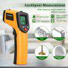 Non-Contact Digital LCD Infrared Thermometer Gun IR Laser Temperature Thermal - YELLOW