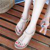 American Size 5-11 Casual Casual Women'S Soft Bottom Outdoor Flat Sandals - BLANCHED ALMOND